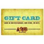 CRACKER BARREL<sup>®</sup> $25 Gift Card