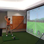 SKYTRAK™ Complete Home Golf Simulator Package