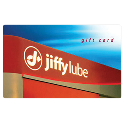 JIFFY LUBE<sup>&reg;</sup> $25 Gift Card - Come see our trained experts for an oil-change, preventive maintenance and more.
