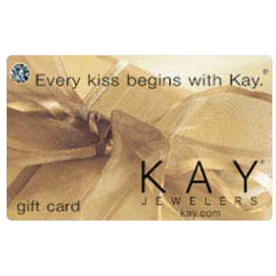 KAY JEWELERS<sup>&reg;</sup> $25 Gift Card - Use this card to shop from a large selection of engagement rings, wedding rings, diamonds, watches and more!